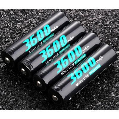 Аккумулятор 18650 Soshine USB 3600 mAh Li-Ion, 3.7В со встроенным micro-USB портом для зарядки. Защищенный (Protected).