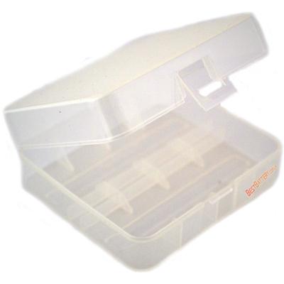 Пластиковый бокс Soshine для хранения 2 шт. Li-Ion аккумуляторов формата 26650 (SBC-015).