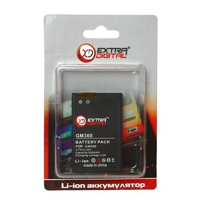 Аккумулятор Extradigital для LG GW300 (650 mAh)