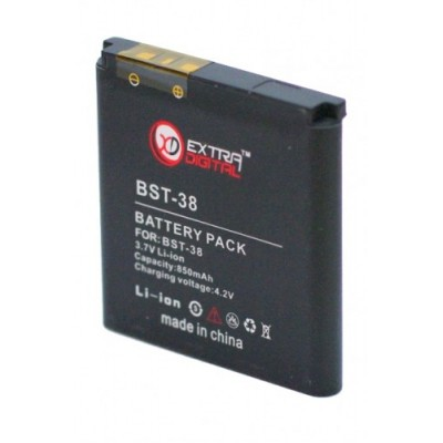 Аккумулятор Extradigital для Sony Ericsson BST-38 (850 mAh)