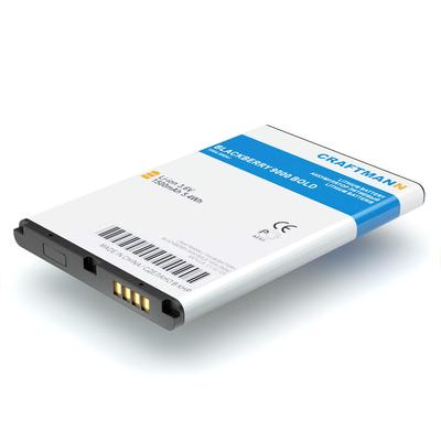 Аккумулятор Craftmann для BlackBerry 9000 Bold (BAT 14392-001). Ёмкость 1500 mAh.