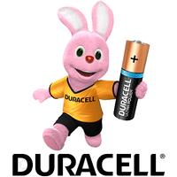 Минипальчиковые аккумуляторы Duracell (AAA).