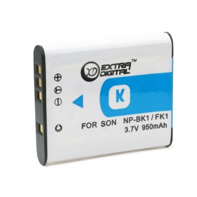 Аккумулятор для Sony NP-BK1, Li-ion, 950 mAh