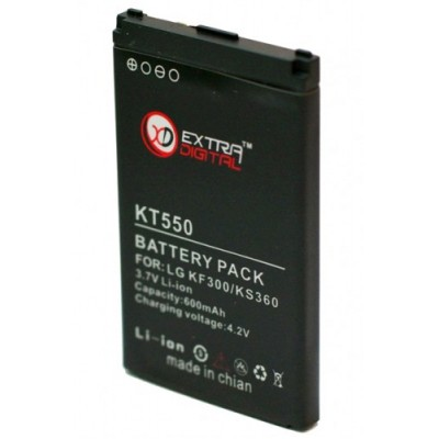 Аккумулятор Extradigital для LG KF300 (600 mAh)