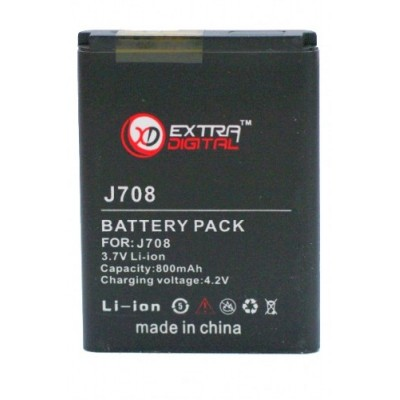 Аккумулятор Extradigital для Samsung SGH-J708 (800 mAh)