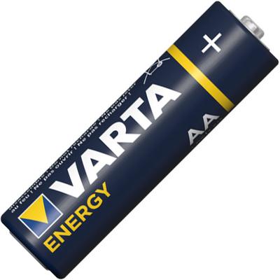 Щелочные пальчиковые батарейки Varta Energy AA / LR6 (4106), 1.5В. Цена за уп. 10 шт. Alkaline.