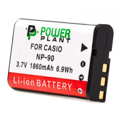 Aккумулятор PowerPlant Casio NP-90