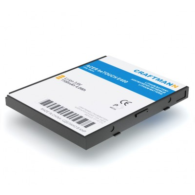 Аккумулятор Craftmann для Acer be Touch E400 (ASH-10A). Ёмкость 1100 mAh.