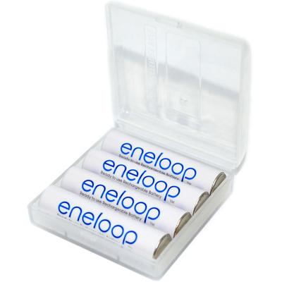 Panasonic Eneloop 800 mAh (min750 mAh) BK-4MCCE - минипальчиковые ААА аккумуляторы Eneloop 4 поколения в боксе. Цена за уп. 4 шт.