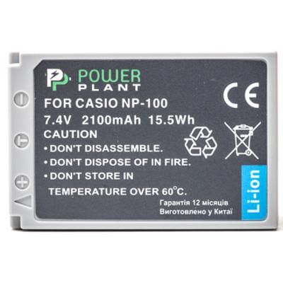Aккумулятор PowerPlant Casio NP-100