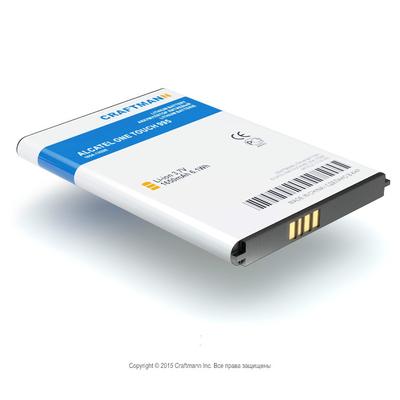 Аккумулятор Craftmann Alcatel One Touch 995. 1650mAh.
