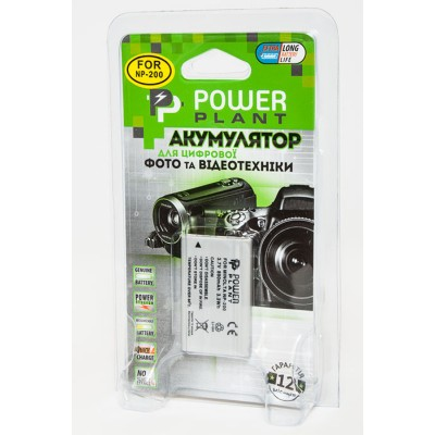 Aккумулятор PowerPlant Minolta NP-200