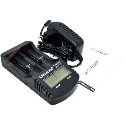 Зарядное устройство LiitoKala Lii-300 для Ni-Mh, Ni-Cd и Li-ion аккумуляторов с функцией Power Bank + Автоадаптер.