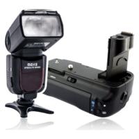 Фотовспышки, батарейные блоки, накамерный свет, аккумуляторы для Canon, Nikon, Sony, Olympus и других производителей.
