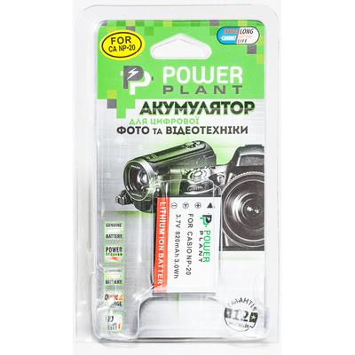 Aккумулятор PowerPlant Casio NP-20