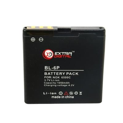 Аккумулятор Extradigital для Nokia BL-6P (1050 mAh)