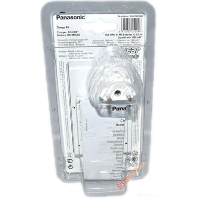 Зарядное устройство Panasonic BQ-CC17 Advanced charger и 4 АА аккумулятора Panasonic Eneloop BK 3MCCE.