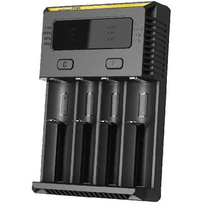 Новое универсальное зарядное Nitecore Intellicharger NEW i4 для Li-Ion/IMR, Ni-Mh/Ni-Cd аккумуляторов.