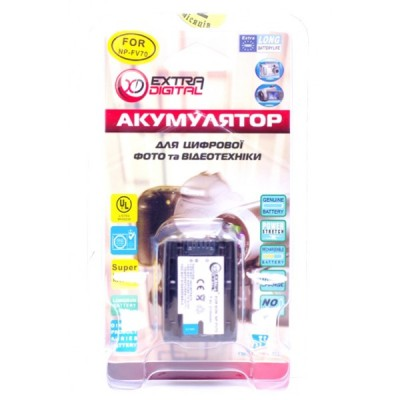 Аккумулятор для Sony NP-FV70, Li-ion, 2100 mAh