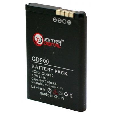 Аккумулятор Extradigital для LG GD900 (750 mAh)