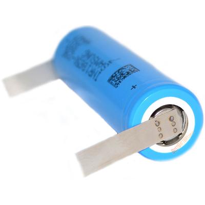 Аккумулятор 18650 Samsung INR 18650 29E 2900 mAh 3,7В, Li-Ion, без защиты с лепестками под пайку (Solder Tags).
