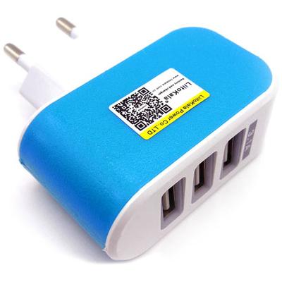 Блок питания LiitoKala Lii-U3 на 3 USB выхода (3100 mA.).