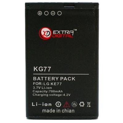 Аккумулятор Extradigital для LG KP105 (600 mAh)