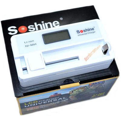 Универсальное зарядное устройство Soshine SC-S7 для Li-Ion, Ni-Mh аккумуляторов.