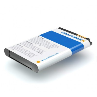 Аккумулятор Craftmann для LG BL40 New Chocolate (LGIP-520N). Ёмкость 900 mAh.
