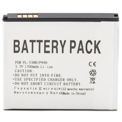 Аккумулятор Power Plant Plant LG FL-53HN (LG P990, LG P920, LG P990, LG P993, LG Optimus 3D)