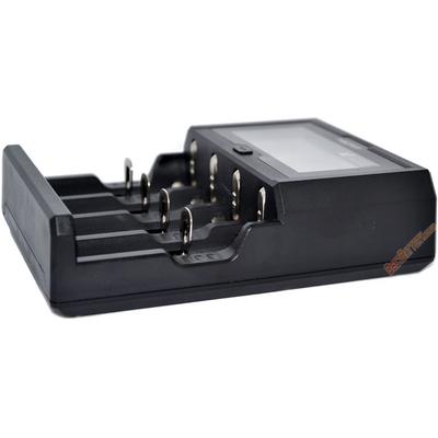 Быстрое зарядное устройство Miboxer C4-12 с дисплеем для Li-Ion, Ni-Mh и Ni-Cd аккумуляторов. Ток -12А!