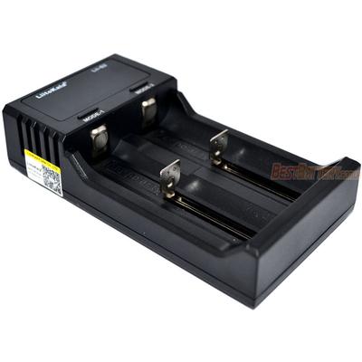Универсальное зарядное устройство LiitoKala Lii-S2 для АА, ААА, 18650, 16340 и др. с цифровым дисплеем.