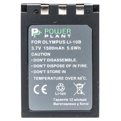 Aккумулятор PowerPlant Olympus LI-10B, Li-12B