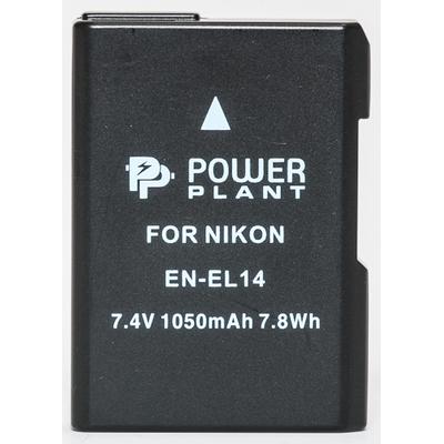 Aккумулятор PowerPlant Nikon EN-EL14 Chip (D3100, D3200, D5100)