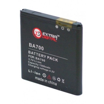 Аккумулятор Extradigital для Sony Ericsson BA700 (1500 mAh)