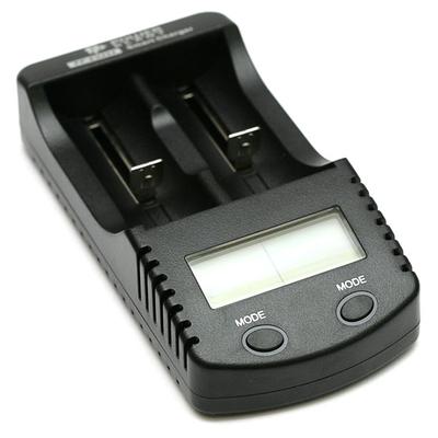 Зарядное устройство Power Plant PP-EU204 для Ni-Mh, Ni-Cd и Li-ion аккумуляторов с функцией Power Bank.