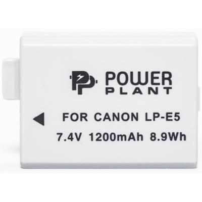 Aккумулятор PowerPlant Canon LP-E5