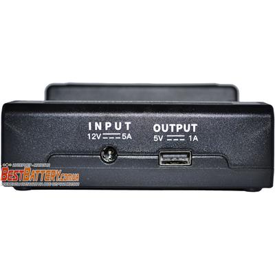 Быстрое зарядное устройство Vapcell S4 Plus v.2.0 на 4 Ni-Mh, Ni-Cd и Li-ion аккумулятора. Ток заряда 3А на канал. Power Bank + Автоадаптер.