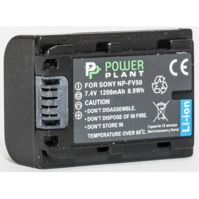Aккумулятор PowerPlant Sony NP-FV50