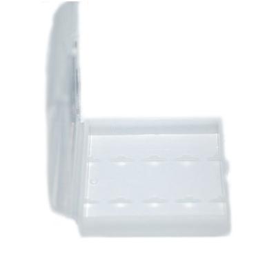 Бокс (кейс, футляр) для минипальчиковых аккумуляторов (ААА). Прозрачный