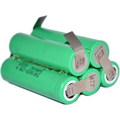 Аккумуляторная сборка 5S1P 2500 mAh 18,5В для шуруповерта на базе аккумуляторов 18650 Samsung 25R.