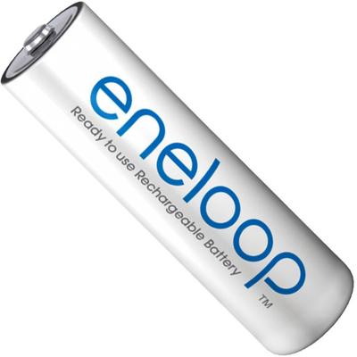 Пальчиковые аккумуляторы Panasonic Eneloop 2000 mAh (min 1900 mAh) BK-3MCCE поштучно. 4 поколение Eneloop. Цена за 1 шт.