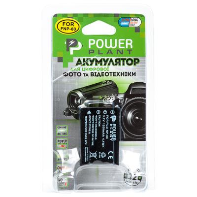 Aккумулятор PowerPlant Fuji NP-60, SB-L1037, SB-1137, D-Li12, NP-30, KLIC-5000, LI-20B