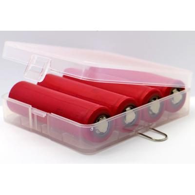 Пластиковый бокс Soshine для хранения 4 шт. Li-Ion аккумуляторов формата 18650 (SBC-017).