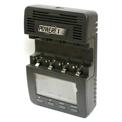 Зарядное устройство Maha Powerex MH-C9000, 4 независимых канала, большой дисплей с подсветкой, программируемое.