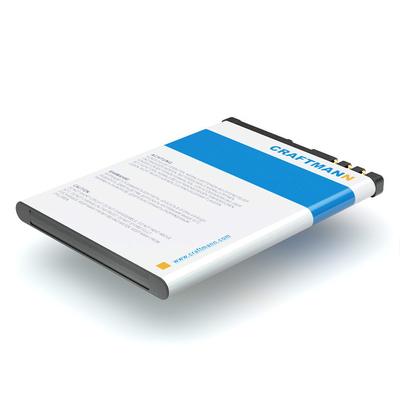 Аккумулятор Craftmann для Nokia 808 Pureview (BV-4D). Ёмкость 1400 mAh.