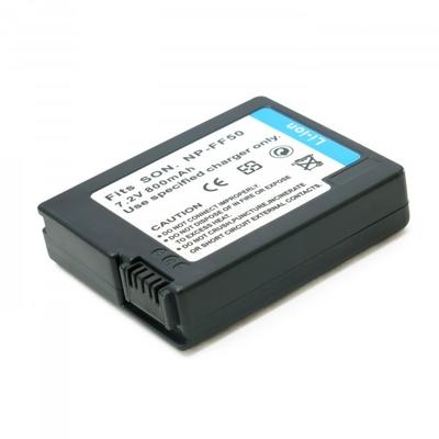 Аккумулятор для Sony NP-FF50, Li-ion, 800 mAh
