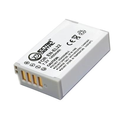 Аккумулятор для Nikon EN-EL22, Li-ion, 1400 mAh (BDN2683)