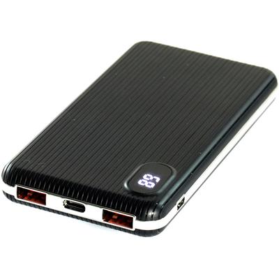 Power Bank на 10000 mAh HQ-Tech 5508QC с быстрой зарядкой (3А) на 2 USB выхода.