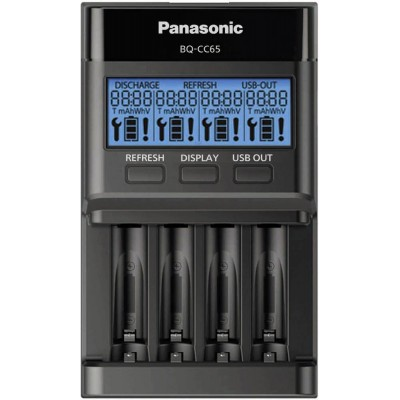 Умное зарядное устройство Panasonic Eneloop Pro BQ-CC65 Professional Charger.